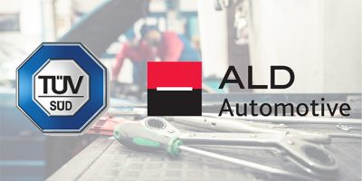 TÜV SÜD certifica la red de talleres de ALD Automotive
